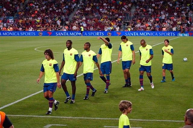 joueurs football barcelone