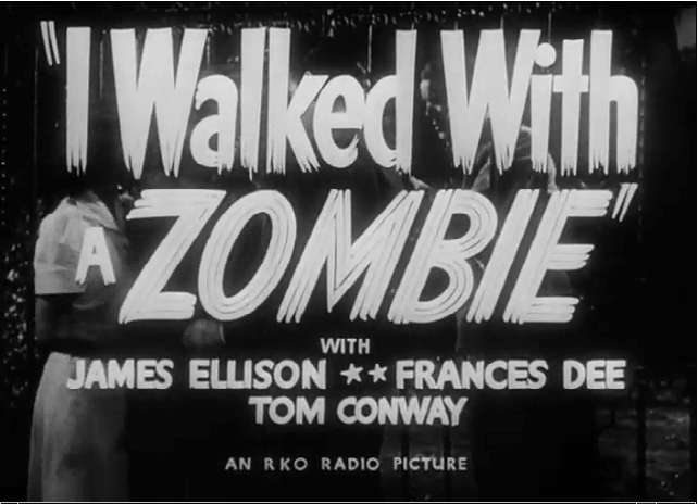 "Plan du film Vaudou 40's : ""I walked with a Zombie"""