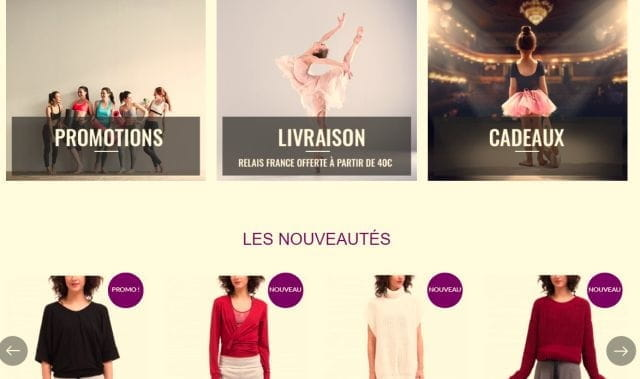 Page d'accueil du site Body Langage.