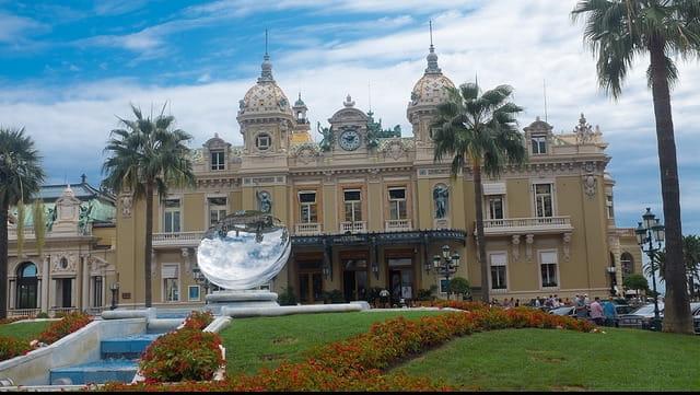 Photographie de l'opéra de Monte-Carlo.