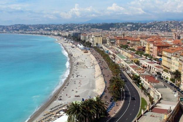 C'est une de Nice et de la promenade des anglais.