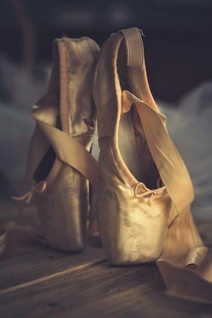 Chausson de danse classique, pointes