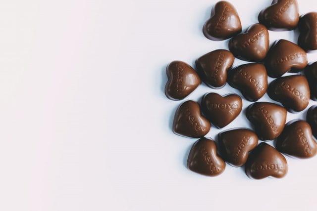 Offrir des chocolats en 2020.