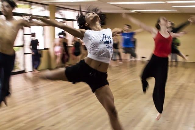 Cours de danse.