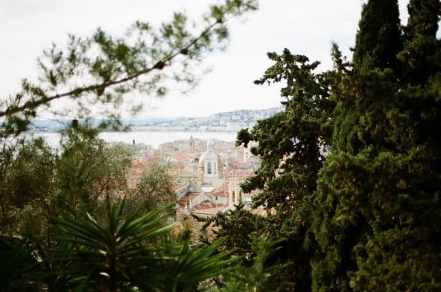 Photo de la Côte d'Azur.